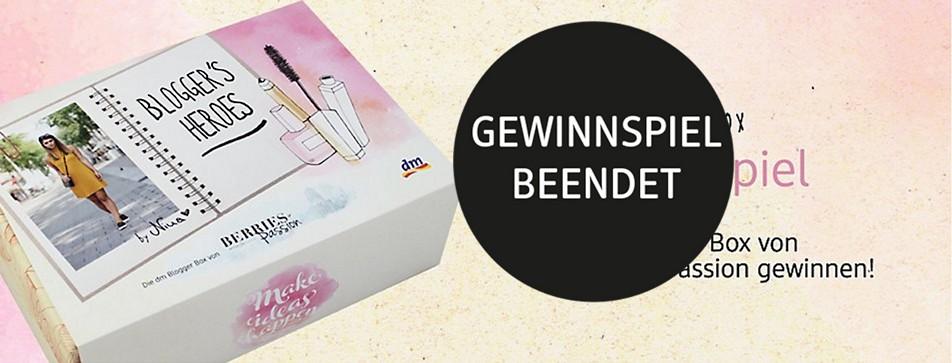 Gewinnspiel: dm Blogger Box von Berries & Passion.