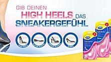 Sneaker-Gefühl in High Heels!