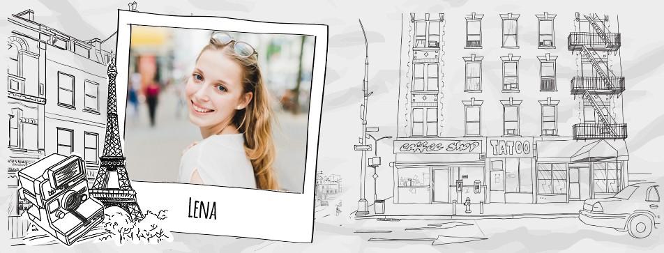 Street Style: Lena stylt sich gerne verspielt und lässig