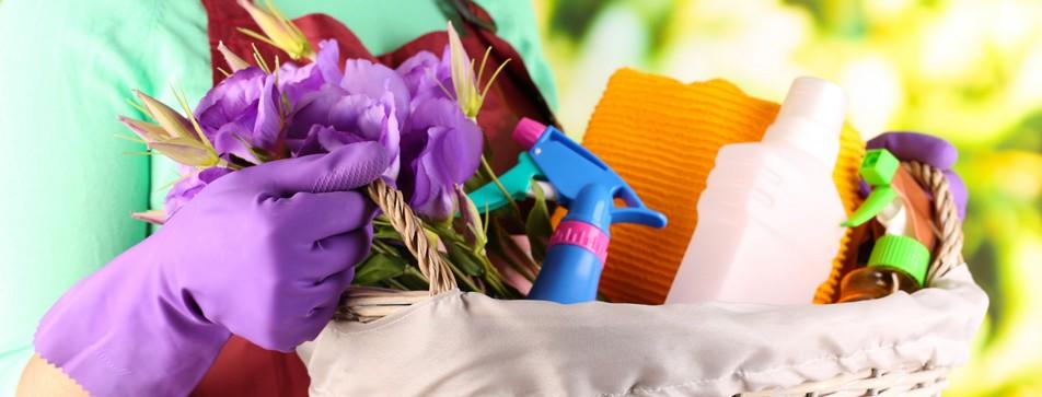 Für den Frühjahrputz braucht's die richtigen Putzmaterialien.