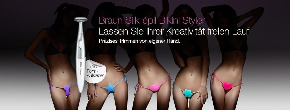 Unterstreichen Sie Ihre Persönlichkeit mit einer schön gestylten Bikini-Zone!