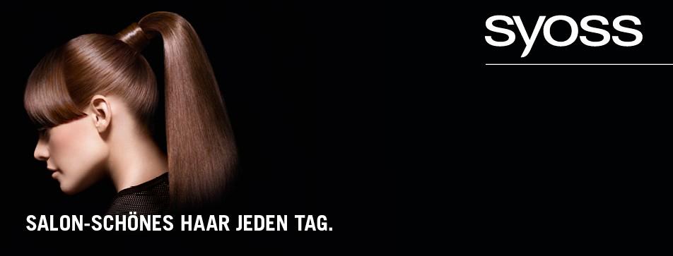 Für jeden Haartyp gibt es das passende Syoss-Produkt.