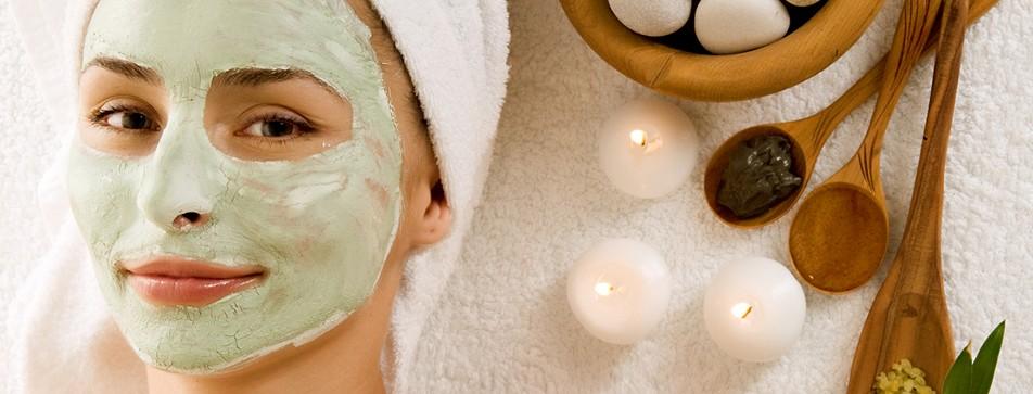 Entspannen mit Gesichtsmasken