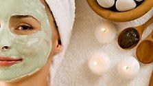 Masken für Haut und Haar