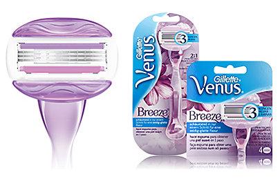 Venus Breeze - schnell und einfach: Rasiergel ist überflüssig.
