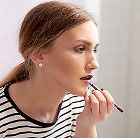 Lipliner als Lippenstift