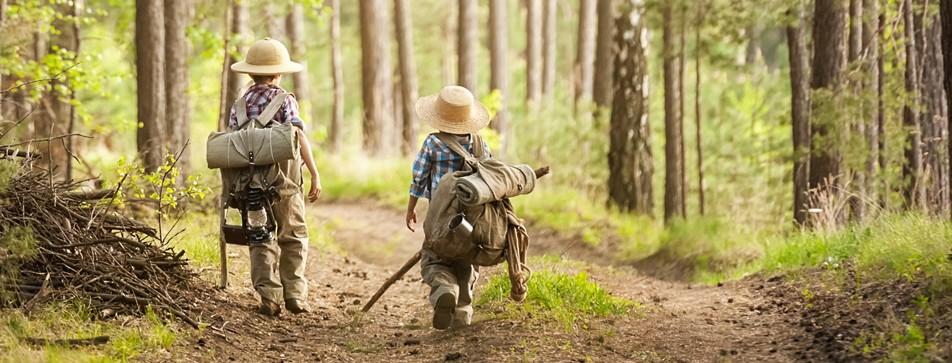 Eine gemeinsame Wanderung ist für Kinder immer ein Erlebnis.