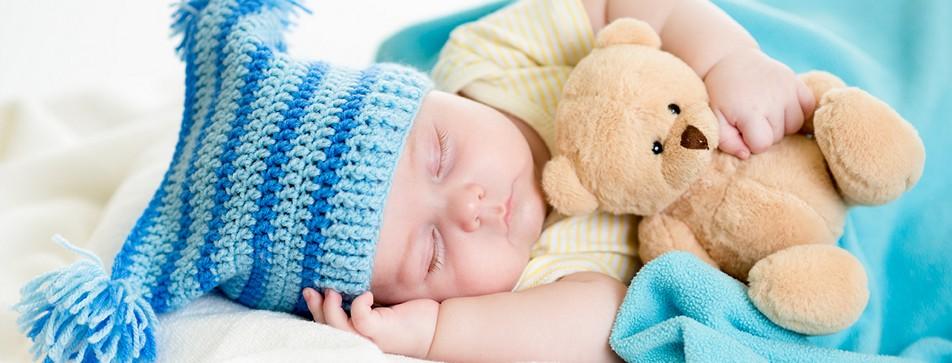 Rituale sind tolle Einschlafhilfen für das Baby.