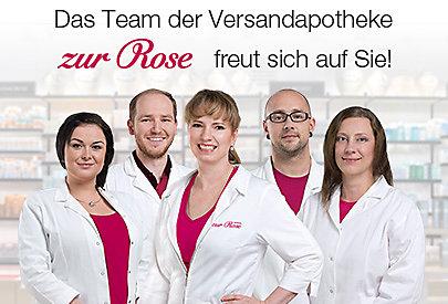 Das Team der Versandapotheke Zur Rose freut sich auf Sie!