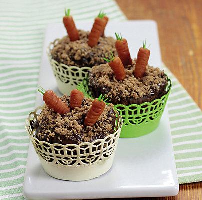 Glutenfreie Cupcakes zu Ostern
