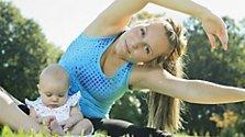 Sport und Natur: perfekt für Mama und Kind