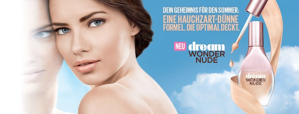 Strahlende Haut mit dem Dream Wonder Nude Make-up von Maybelline!