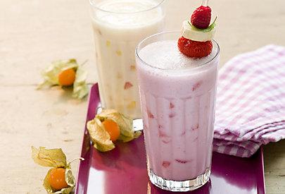 Rezept für Ananas-Erdbeer-Cocktail