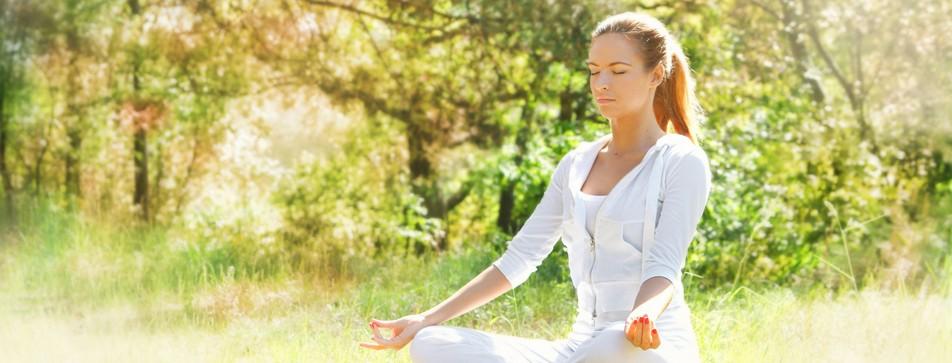 Innere Balance finden mit Yoga.