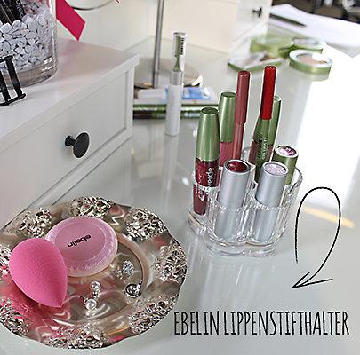 Schminkaufbewahrung: Der neue Lippenstifthalter von ebelin.