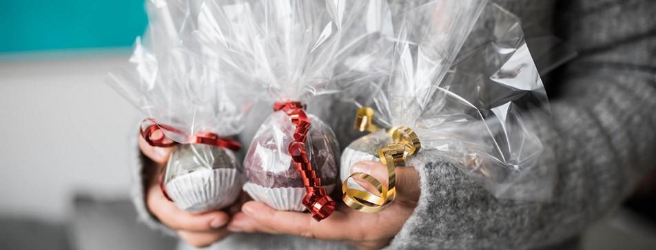 DIY Badekugeln - Geschenke für Weihnachten.