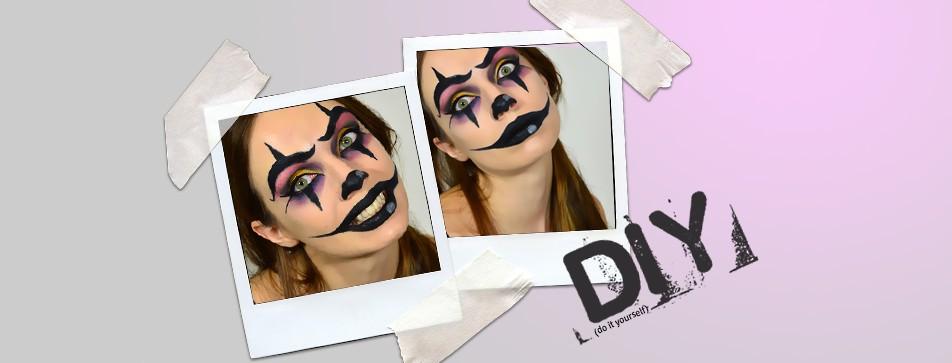 In sechs Schritten zum gruseligen Helloween Make-Up.