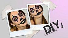 Halloween Make-Up: Creepy Clown