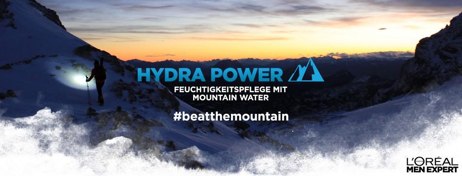 Feuchtigkeitspflege mit Mountain Water