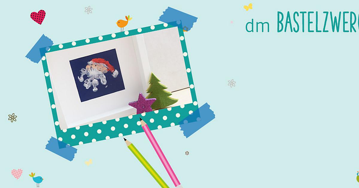 Dm Christbaumkugeln.Bastelzwerger Weihnachtskarten Gestalten Dm Online Shop Magazin