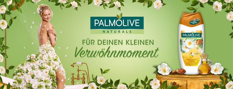Palmolive Cremedusche gratis testen