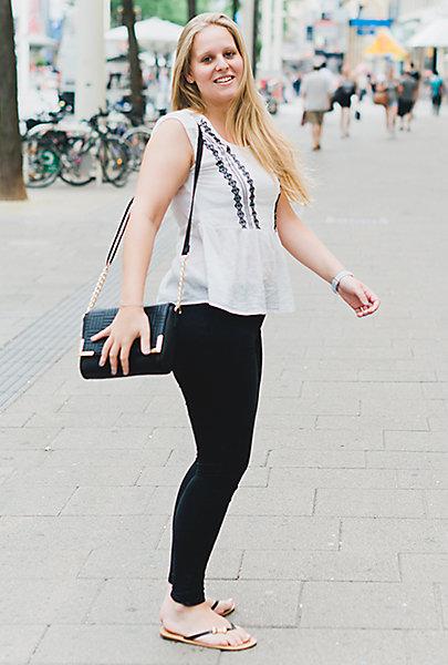 Perfekte Kombi: Schwarz-Weiß