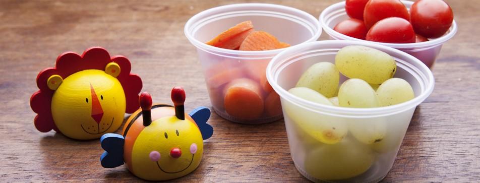Weniger Essen wegwerfen: Nachhaltigkeit können Kleinkinder spielerisch lernen.