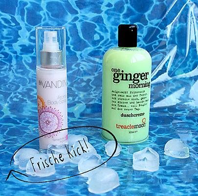 Frische Dusche von traclemoon und Körperspray von aldo Vandini.
