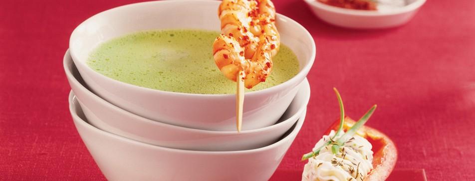 Avocadosuppe: eine leichte sommerliche Suppe