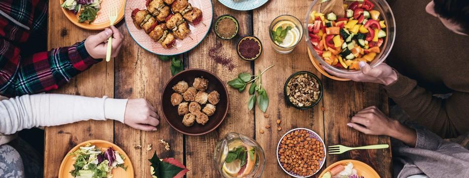 Leckere Gerichte sind beim gemeinsamen Kochen garantiert.