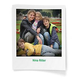 Alleinerziehend: Nina Ritter mit Ihren Kindern