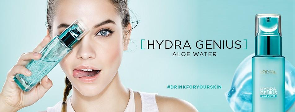 Hydra Genius - Feuchtigkeitspflege für frische, strahlende Haut.