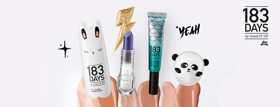 183 Tage Beauty und mehr! Entdeckt die Produkte der neuen dm Marke 183 DAYS!