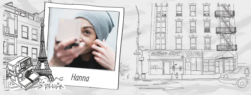 Hanna: Sportlich, feminin und nie ohne Mascara unterwegs