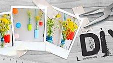 DIY: Hängende Vasen aus Plastikflaschen