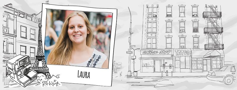 Lauras Street Style? Lässig in Schwarz-Weiß!