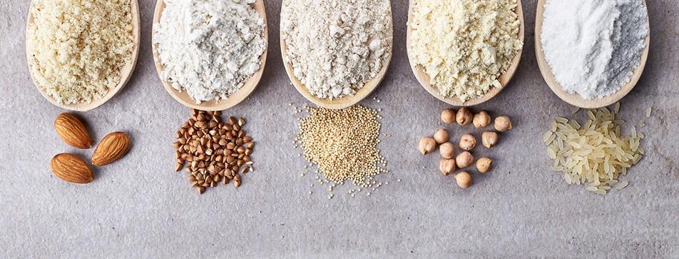 Amaranth, Polenta, Hirse und andere glutenfreie Alternativen können in der Küche vielseitig eingesetzt werden.