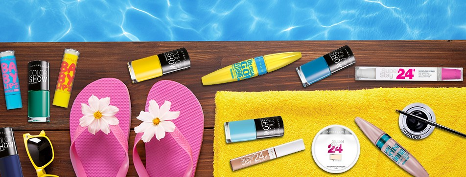 Das richtige Make-up für die Pool Party!