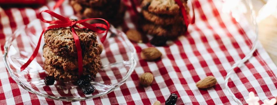 Keksrezept: Cranberry-Mandel-Kekse