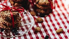 Rezept: Cranberry-Mandel-Kekse