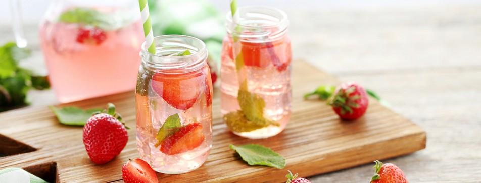 alkoholfreie Sommer-Drinks