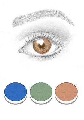 Welcher Lidschatten passt zu braunen Augen?