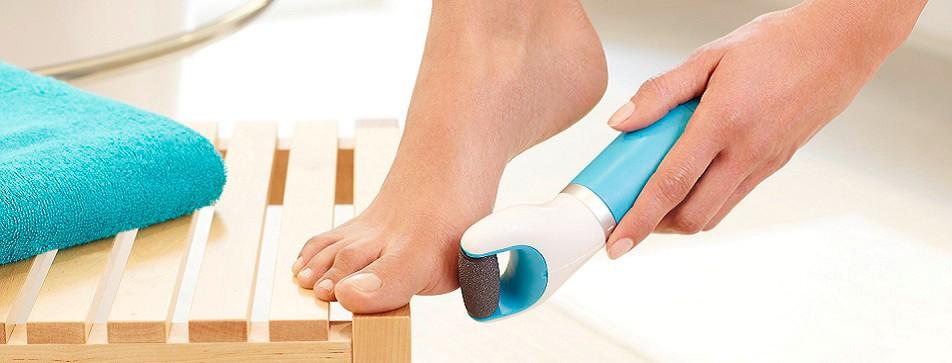 Zuhause ganz entspannt die Füße pflegen!