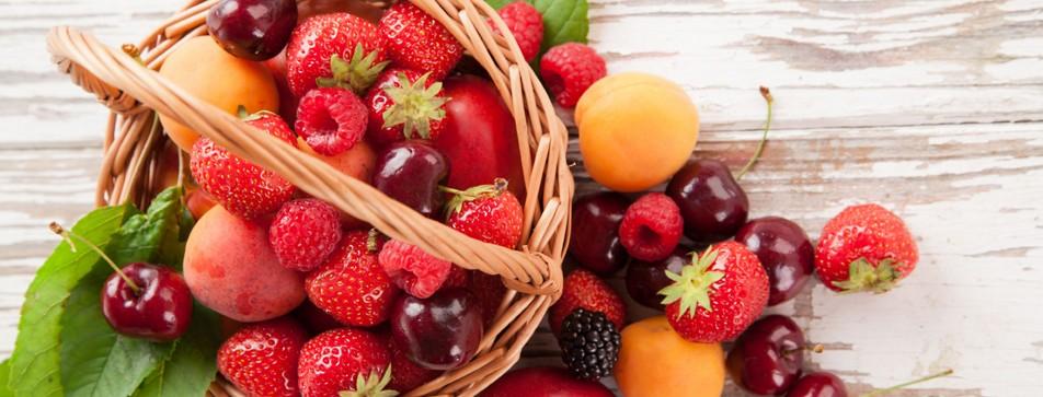 Pflegeprodukte mit fruchtigem Duft