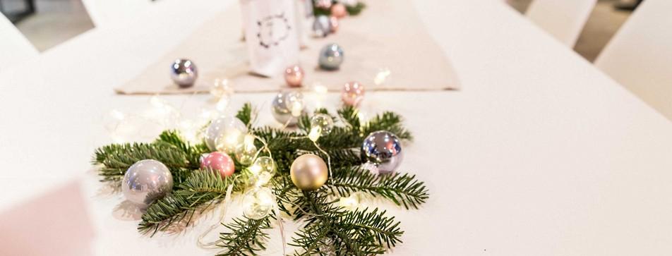 Leckeres 3-Gänge Menü zu Weihnachten.