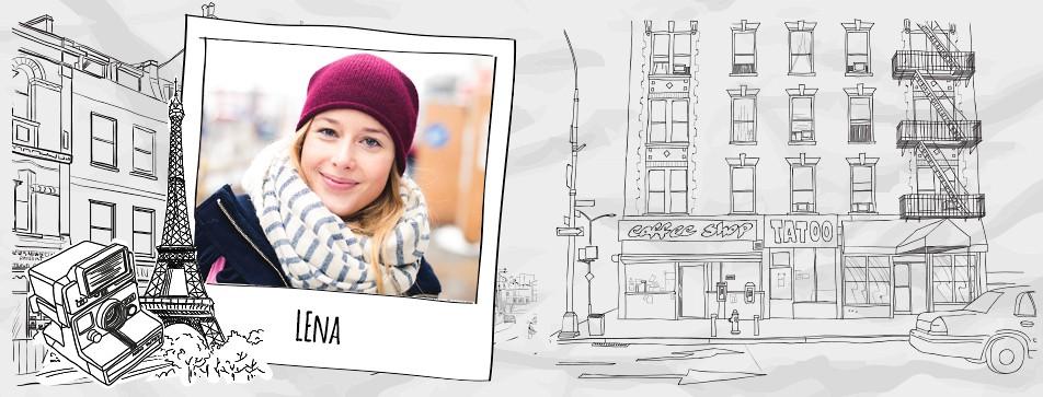 Lena aus Wien mag es sportlich-elegant.