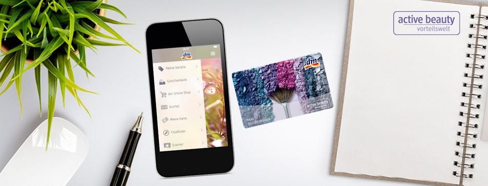 Die dm Kundenkarte ist der Schlüssel zur dm active beauty Vorteilswelt.
