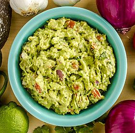 Mexikanische Grillsauce: Guacamole