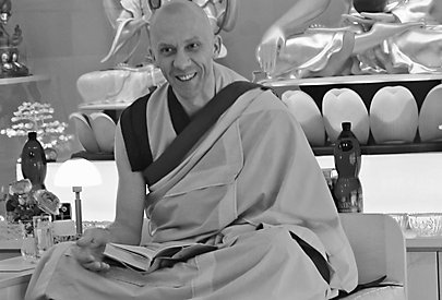 Mönch Gen Kelsang Nyima im Interview