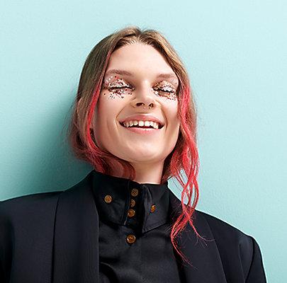 Make-Up-Trends 2018: Glitzer und Glitter auf den Augen